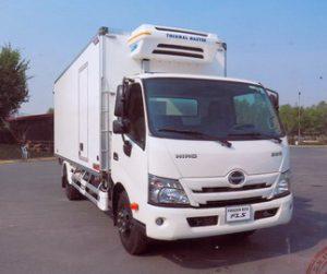 Xe tải hino đông lạnh 5 tấn